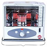 World Marketing KW-11F 10,000 BTU Radiant Heat Indoor Kerosene Heater by Kero World