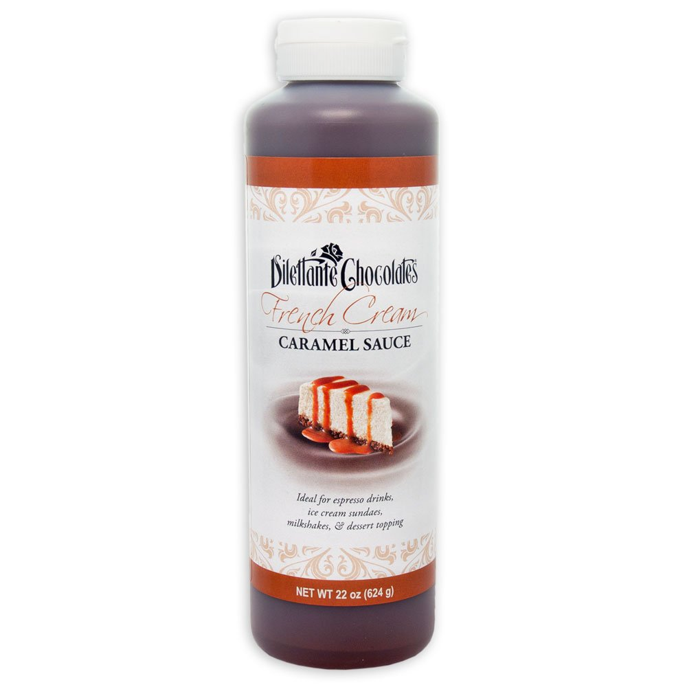 Dilettante Carameled Cream Sauce, 22-Ounce Packages (Pack of 2)