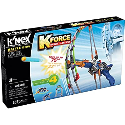 K'NEX K-FORCE Battle Bow Build and Blast Set – 165 Pieces – Ages 8+ Engineering Education Toy ( Exclusive): Toys & Games