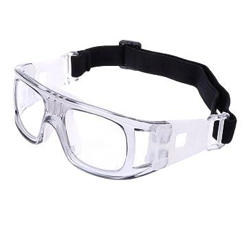 ca31a0178e3 Amazon.com  ULKEME Sport Eyewear Protective Goggles Glasses Safe Basketball  Soccer Football Cycling (light gray)  Musical Instruments