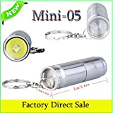 Trustfire Mini-05 CREE XM-L2 LED Flashlight 300LM Torch lantern Pocket Torch light For camp Penlight Lanterna