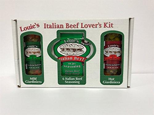 Louie's Italian Beef Lover's Kit - Italian Beef Kit