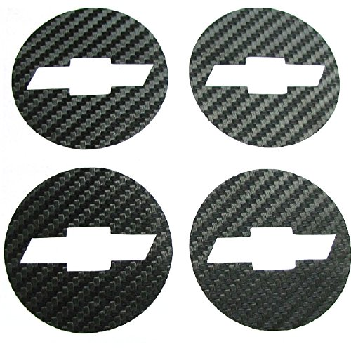 Car Styling Carbon Fiber Wheel Center Hub Caps Emblem Sticker for Chevrolet Chevy Cruze 4pcs set 2011 2012 Benzy