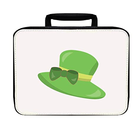 9ca242937060 Amazon.com: Green Hat Nylon Insulated Lunch Box Food Bag: Kitchen ...