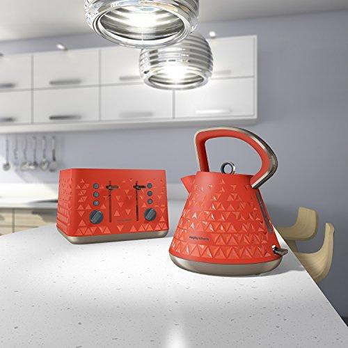 Morphy Richards 248106 Prism Toaster - Orange