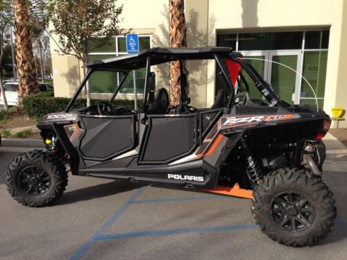 Valentine's Sale! 2014 Polaris RZR XP 1000 4-Door BLINGSTAR Aluminum Suicide Doors w/