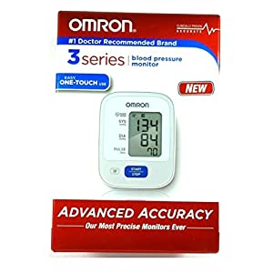 Omron Healthcare, 3 Series Wrist BP Monitor (Catalog Category: Personal Care / Blood & Heart Monitors)