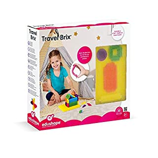 Edushape Travel Brix Building Kit, 33 Piece
