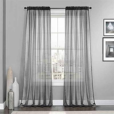 Dreaming Casa Solid Sheer Curtains 548