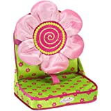 Doll Car Seat by Sophia's in Pink & Green, Perfect for 18 Inch Dolls, 15 Inch Dolls or Plush Animal Doll Travel Carrier