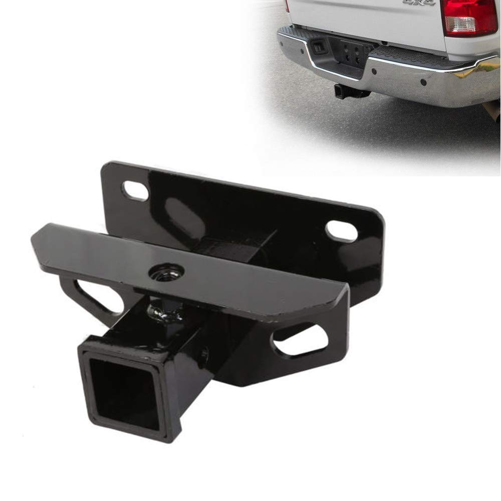 for 2003-2017 Dodge Ram Class 3 Tow Hitch Receiver Trailer with HEKA Cover 2 Tiewards