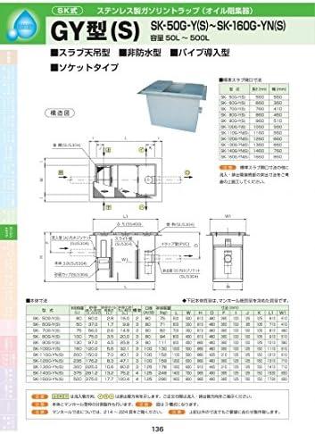 GY型(S) SK-110G-YN(S) 耐荷重蓋仕様セット(マンホール枠:ステンレス / 蓋:溶融亜鉛メッキ) T-20
