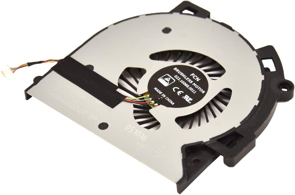 Artidux Replacement CPU Cooling Fan 4 Pins 4 Wires for HP M6-AR M6-AR004DX M6-AQ003dx M6-AQ005dx M6-AQ004DX M6-AQ103DX M6-AQ105DX Series Compatible Part Number: 856277-001