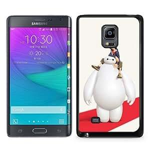 Popular Sale Samsung Galaxy Note Edge Case,big hero 6 Black Customized Picture Design Samsung Galaxy Note Edge Phone Case