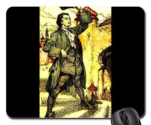 Mouse Pads - Gullivers Travels Arthur Rackham Vintage 4