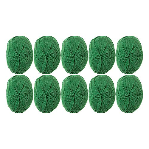 Knit Picks Brava Sport 100% Acrylic Yarn - 10 Skeins (Grass)