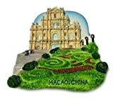 Ruins of St. Paul's Cathedral (Macau, China), High Quality Souvenir Resin 3d Fridge Magnet BUY 5 GET 1 FREE **Special Promotion until Jul 30th**