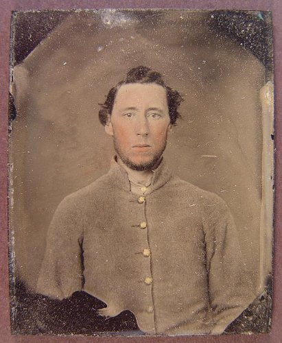 - Infinite Photographs Photo: Unidentified Soldier,Confederate Shell Jacket,American Civil War,1861-1865 2