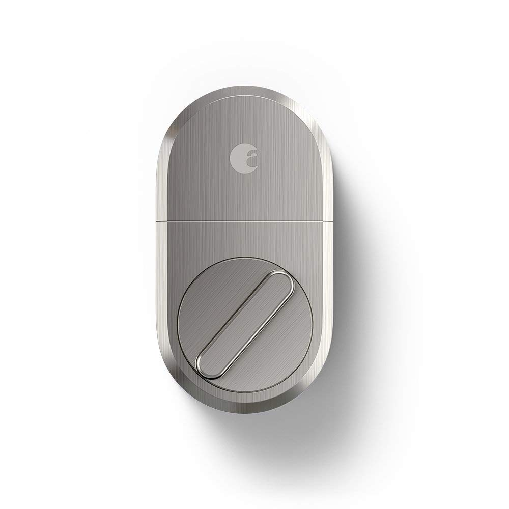 August Smart Lock + Connect, Satin Nickel by August (Image #2)