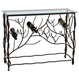 Midwest - CBK Wine Table with 10 Bottle Lower Iron Wine Rack