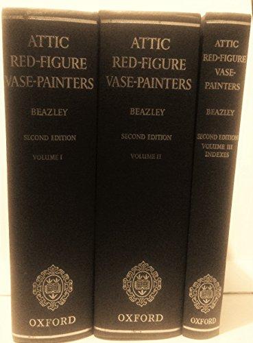 ATTIC RED-FIGURE VASE-PAINTERS - 3 Volume - Figure Vase