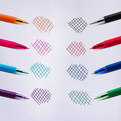 Pentel RSVP Mini Ballpoint Pen, (1.0mm) Medium Line, Orange Ink, 12 pack (BK91MNF-F)