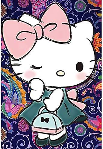 VAST Animado Hello Kitty Dibujos Animados Rompecabezas, Rompecabezas de descompresión en la Mano de la Familia Juegos interactivos, 300/500/1000 Piezas 514 (Color : C , Size : 1000pc) : Amazon.es: Juguetes y juegos