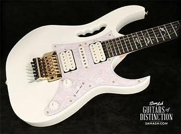 Ibanez jem7 V Steve Vai Firma guitarra eléctrica color blanco (SN: f1627069): Amazon.es: Instrumentos musicales