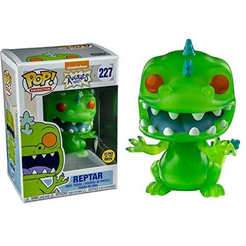Funko POP Télévision Rugrats Reptar Glow-in-the-Sombre Figurine