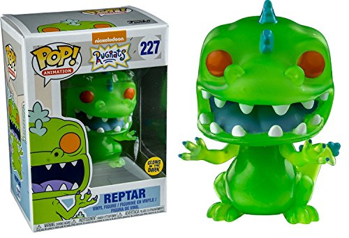 Funko POP Television Rugrats Reptar Glow-in-the-Dark Entertainment Earth Exclusive Action Figure -