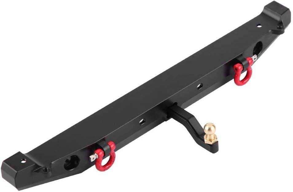 Parachoques Delantero//Trasero de Metal con Control Remoto a Escala 1:10 con 4 Luces LED Accesorio RC para Traxxax TRX-4 SCX10II 90046 1//10 RC Climbing Car Parachoques RC