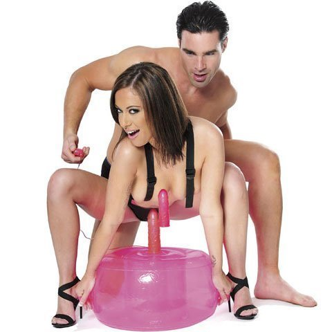 FETISH FANTASY INFLATABLE PINK HOT HOT PINK SEAT 45a8f0