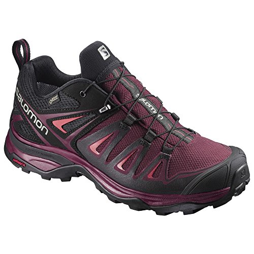 Black X Port Boots Living Purple Ultra W Black Tawny GTX 000 Hiking Rise 3 Low Salomon Women's Coral nRFOA5q6wx