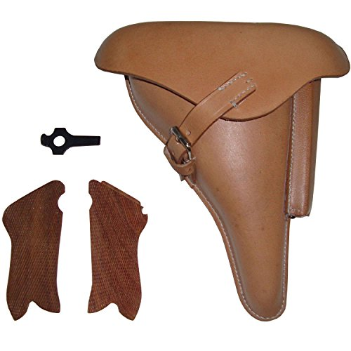 Used, warreplica WW2 P08 Holster Natural color w/Take Down for sale  Delivered anywhere in USA