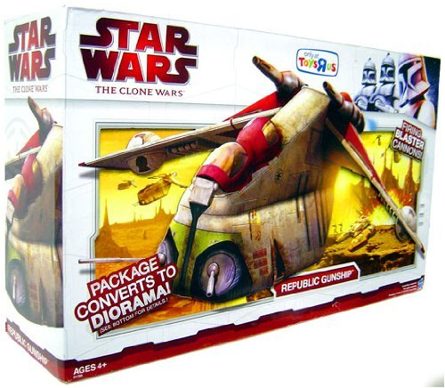 Star Wars Clone Wars Republic Gunship - Star Wars, Clone Wars Republic Gunship Bomber