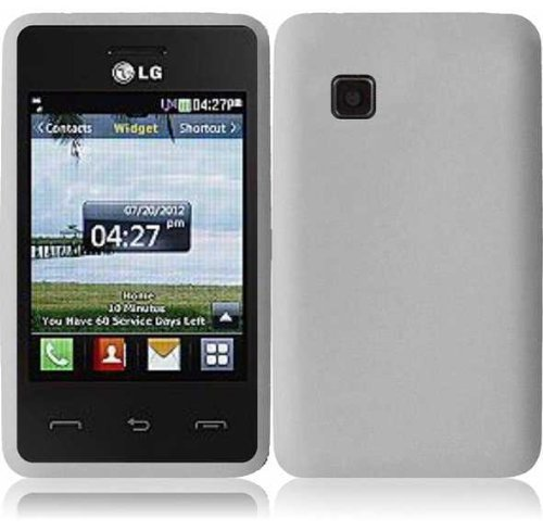 For LG 840G LG840G Silicone Jelly Skin Cover Case Clear Accessory (Lg 840g Jelly Case)