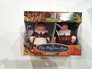 The Pilgrim Pair Limited Edition Original Collectible Salt and Pepper Shakers (2014 Limited Edition)