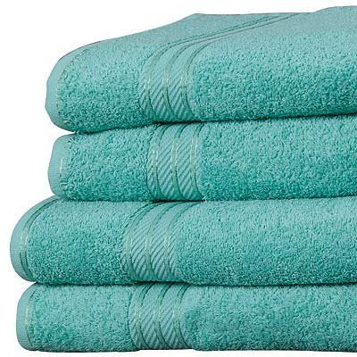 Asciugamano ospite in Cotone Egiziano 100/% L 40 x l 60 Linens Limited Supreme Giada