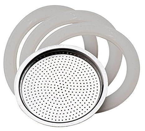 Fagor Filtro cafetera de 12 tazas (3 juntas, 1 filtro ...