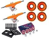 Gullwing Pro III 9'' 155mm Orange Trucks + Sector 9 58mm 78a Orange Wheel Combo