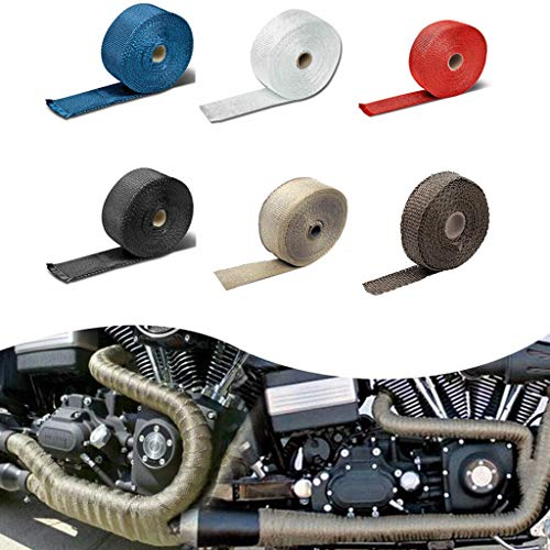AutumnFall Car Modification Insulation Belt Motorcycle Exhaust Pipe Insulation Cotton Plantain Cloth Insulation Tape High Temperature Cloth