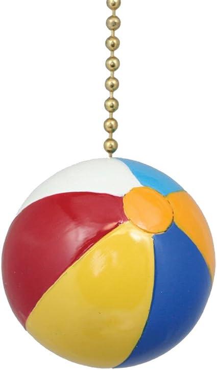 Clementine Design  Flip Flops Ceiling Fan Light Dimensional Pull Resin