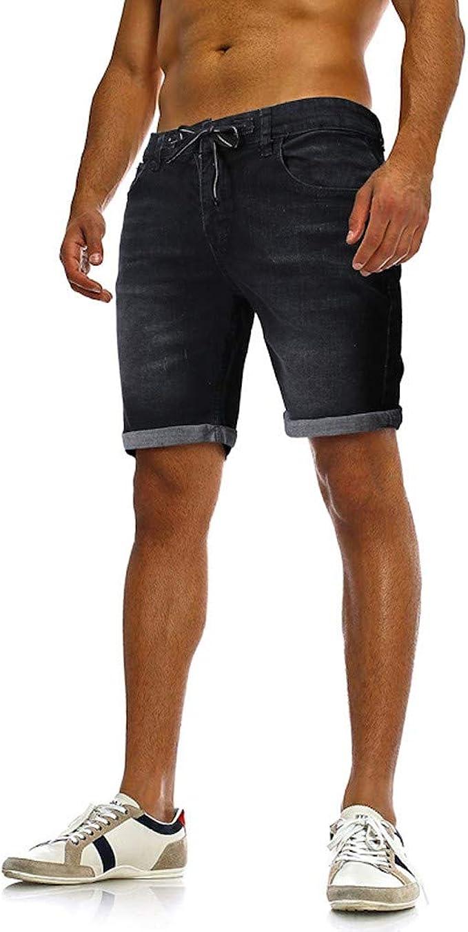 blue jean shorts for men