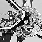 Mountain-BikeRoad-BikeBambini-Mountain-Bike-Bambini-Donne-Uomini-Mountain-Bike-Super-Lite-Alluminio-3-Pin-Magnesio-Ruote-26-Indice-27-Velocita-Deragliatore-Cambio-Dual-Calliper-Freni-a-Disco
