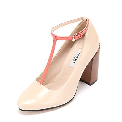 d97859bcda58 Clarks Women s Crumble Berry Oyster Combi (Fit E) Leather Pumps - 6 UK  Buy  Online at Low Prices in India - Amazon.in