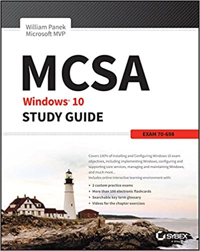 FULFILLED) Download MCSA Windows 10 Study Guide: Exam 70-698 ebook