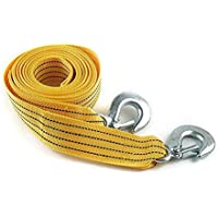 Ezip 3 Ton Nylon Car Truck Towing Rope Cable for Heavy Duty Car Emergency Tow Pull Rope Strap Hooks Van Road Recovery For Maruti Suzuki Swift ( All Types )