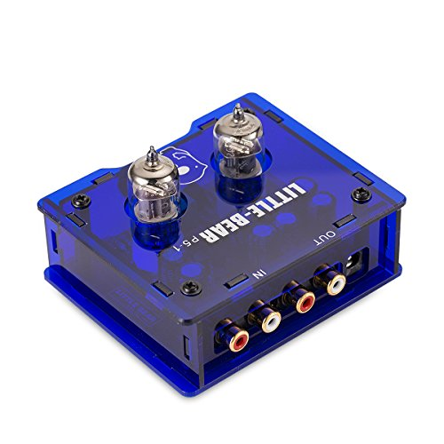 Little bear P5-1 BLUE tube valve puffer Preamp Preamplifier amplifier ver1.2