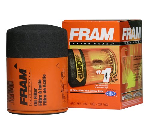Fram PH4967 Adventitious Guard Passenger Car Spin-On Oil Filter (Pack of 2)