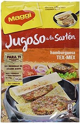 Maggi Jugoso a la Sartén Hamburguesa Texicana - Papel Condimentado ...